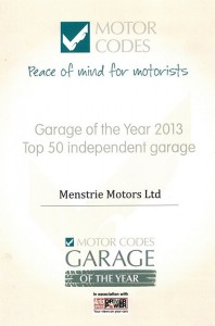 Garage of the year 2013